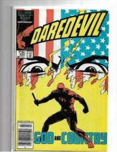 DAREDEVIL #228, 231,232,233 - NM -BORN AGAIN STORY-FRANK MILLER COPPER AGE KEYS