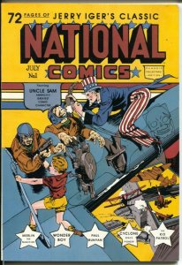 National Comics #1 1985-Blackthorn-1st issue-reprints the Golden Age comic-VF
