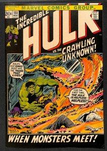 Incredible Hulk (1968) #151 FN- 5.5 Marvel Comics