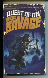 DOC SAVAGE-QUEST OF QUI#12-ROBESON-G- JAMES BAMA COVER- G