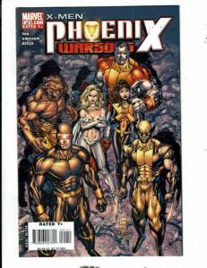 10 Comics Phoenix Warsong # 1 2 3 4 5 + X-Campus # 1 2 3 4 + Nightcrawler CJ18