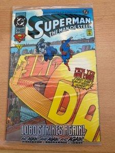 Superman: The Man of Steel #30 (1994) COMPLETE ORIGINAL PACKAGING