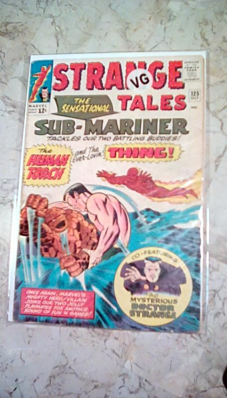 Strange Tales #125 {Silverage} in VG 4.0 CONDITION