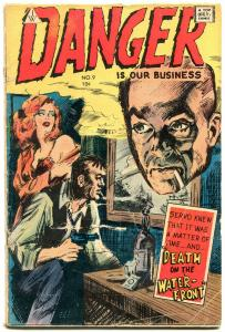 Danger is Our Business #9 1963- Frazetta- IW comic G/VG