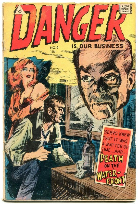 Danger is Our Business #9 1963- Frazetta- IW comic G/VG