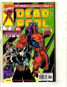 Deadpool # 7 NM- Marvel Comic Book X-Men X-Force Wolverine Cable Domino EK8
