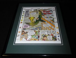 1994 Spiderman Framed 11x14 Sketch Display Official Repro Victims of Vulture