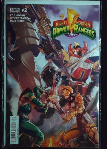 Mighty Morphin Power Rangers #2 (2016)