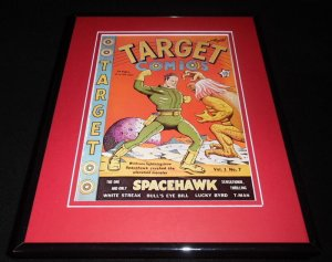 Target Comics Vol 1 #7 Framed Cover Photo Poster 11x14 Official RP