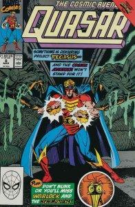 Quasar #8 VF/NM; Marvel   save on shipping - details inside