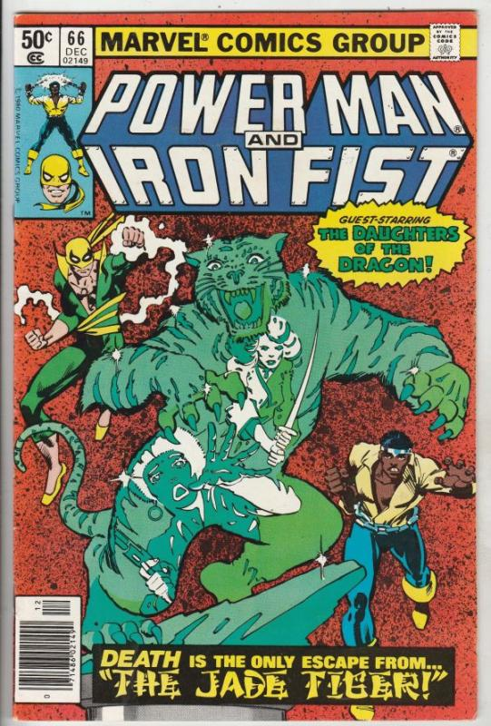 Power Man and Iron Fist #66 (Dec-80) NM/NM- High-Grade Luke Cage, Iron Fist