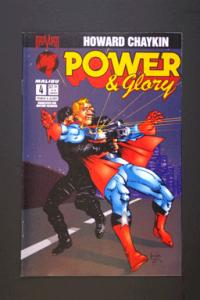 Power and Glory #4 May 1994 by Howard Chaykin Malibu Comics