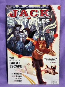 Bill Willingham JACK OF FABLES Vol. 1 TP The (Nearly) Great Escape (DC, 2007)!