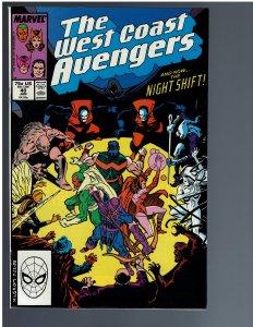 West Coast Avengers #40 (1989)