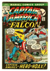 Captain America 153