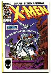 X-Men Annual #9 NM- Storm becomes Thor! Marvel comic book