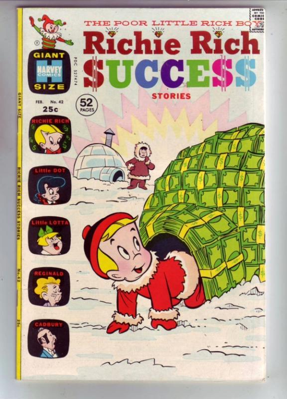 Richie Rich Success #42 (Feb-72) NM/NM- High-Grade Richie Rich