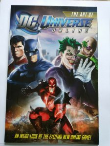 The Art of DC Universe Online (2010) Batman Superman Joker Harley Quinn