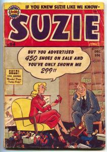 Suzie #84 1951- ARCHIE COMICS- Ginger G/VG