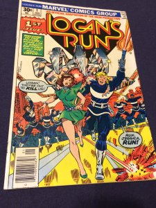 Logan's Run #1 FN/VF (1977) Marvel Comics 1st Issue