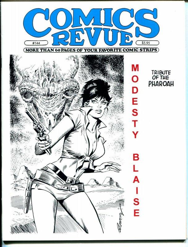 Comics Revue #144 1997-Romero-Sky Masters-Phantom-Modesty Blaise-Tarzan-VF