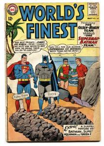 WORLDS FINEST #141 1964 DC SUPERMAN BATMAN ROBIN AQUAMAN G-