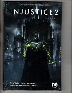 Injustice 2 Vol. # 1 DC Comics Hardcover SEALED Graphic Novel Comic Book J297