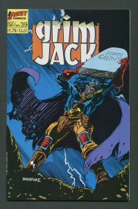 Grim Jack #39  /  9.2 NM-   October 1987