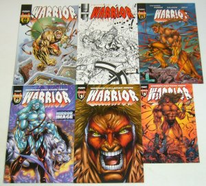 Warrior #1-4 VF/NM complete series + ashcan + x-mas special - ultimate warrior