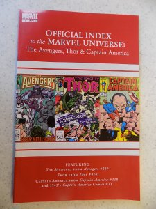 OFFICIAL INDEX OF THE MARVEL UNIVERSE # 9