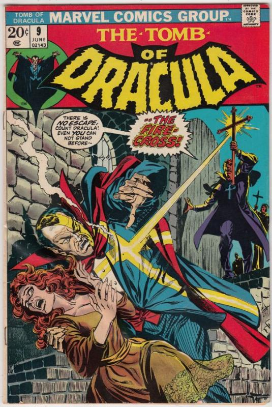 Tomb of Dracula #9 (Jun-73) VG/FN Mid-Grade Dracula