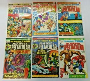 Marvel Spectacular Thor #1 to #18 18 different books average 5.0 range  (1973)