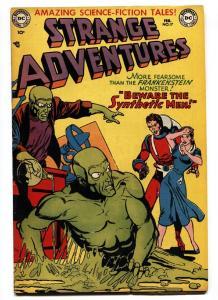 Strange Adventures #17 1952- Captain Comet- comic book FN/VF