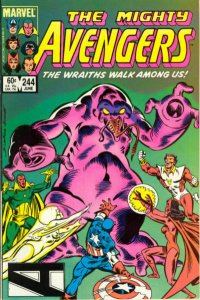 Avengers, The #244 VF/NM; Marvel   save on shipping - details inside