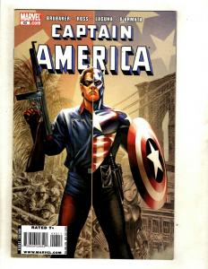 12 Captain America Marvel Comics # 1 2 3 4 43 44 45 46 47 49 RP2