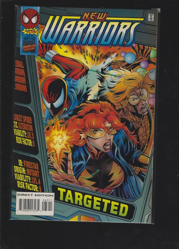 The New Warriors #63 (1995)