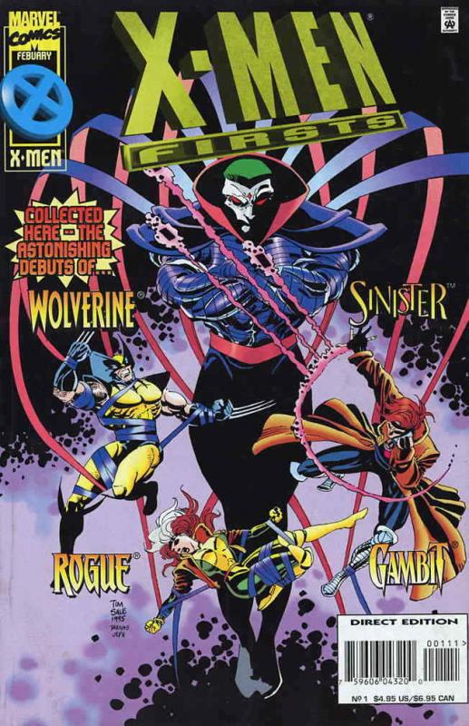 X-Men Firsts #1 VF/NM; Marvel | save on shipping - details inside