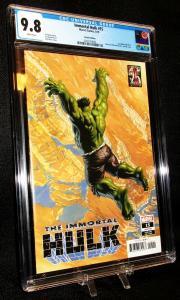 Immortal Hulk #15 Alex Ross Marvels 25th Variant (2019) CGC 9.8 NM/MINT