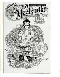 Lot Of 2 Lady Mechanika Benitez Pro. Comic Books # 3 (2 Different) Destinies CA2