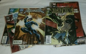 Nightwing V2 #3,5,6,14,16,21 +++ Titans V1 #1-25 + Deathstroke, comics lot of 65