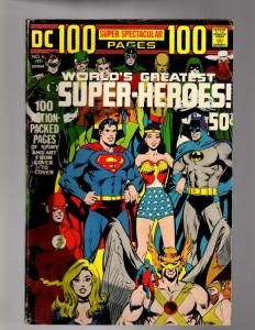 DC 100 PAGE SUPER SPECTACULAR DC- 6  VERY GOOD-FINE  19
