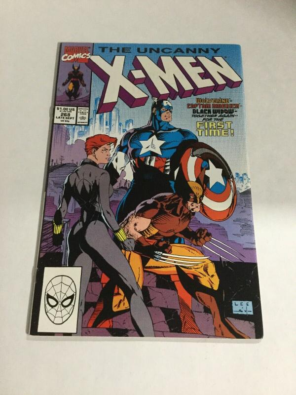 Uncanny X-Men 268 Nm- Near Mint- Marvel