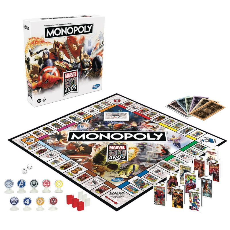 Marvel 80th Anniversary Monopoly