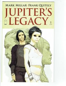 JUPITER'S LEGACY #1 NM (IMAGE comics 2013) COVER A MILLAR NETFLIX  1ST PRINT