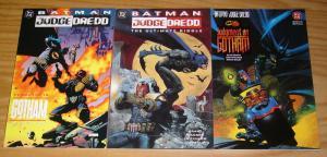 Batman/Judge Dredd set of (3) VF/NM ultimate riddle vendetta in gotham judgment