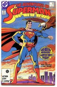 Adventures of Superman #424 (6.5) 1985 New Direction Copper Age DC