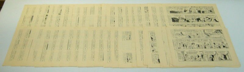 Li'l Abner by Al Capp newspaper strip reproductions 55 pages