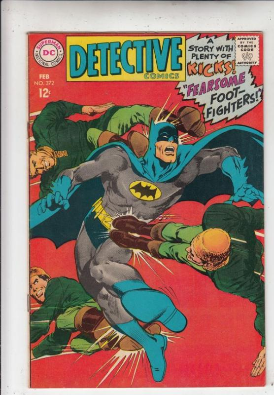 Detective Comics #372 (Feb-68) NM- High-Grade Batman