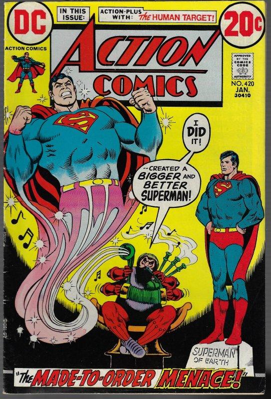 Action Comics #420 (DC, 1973)