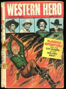 WESTERN HERO #76 (#1)-HOPALONG/TOM MIX-WESTERN G